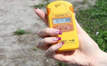 О проведении измерений в области радиационно-экологических изысканий
