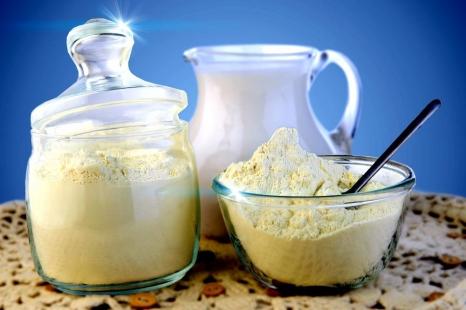 Об обнаружении сухого молока в пробах молочной продукции